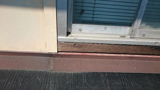 雨漏り箇所(窓廻り)