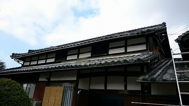 松山市古三津の現場写真