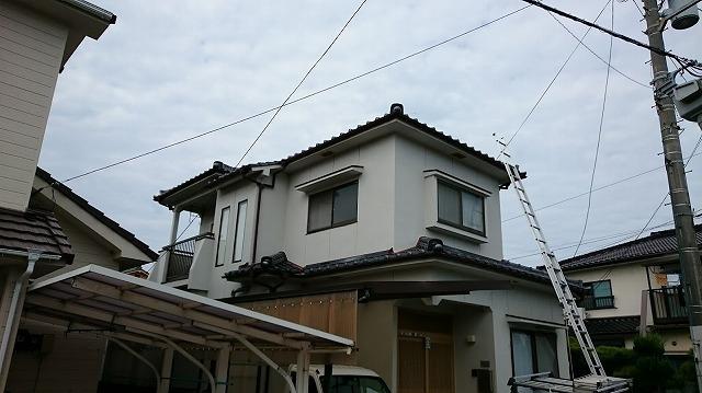 住宅の外観
