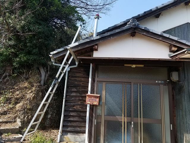 松山市興居島の現場写真
