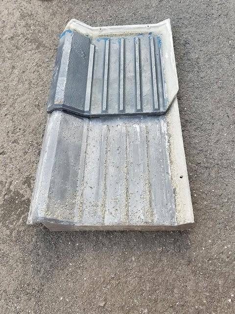 S型セメント瓦の写真