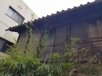 N様邸の裏側2F屋根