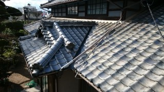 松山市平田町雨漏り現場工事後