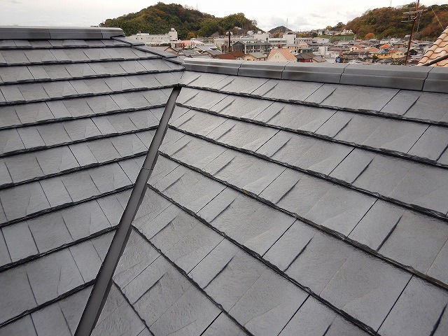 上屋根完工写真