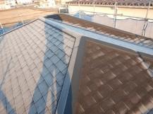 屋根の完工後