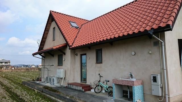 天窓の鉛板がめくれてしまったお家の現場写真