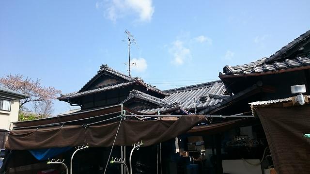 砥部町高尾田の現場写真