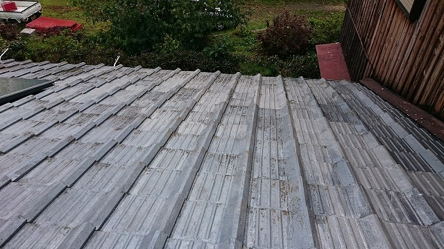 S型スレート瓦屋根
