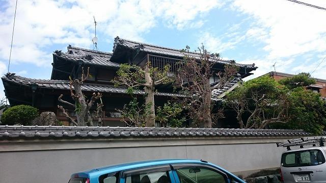 松山市東石井純和風住宅外観②