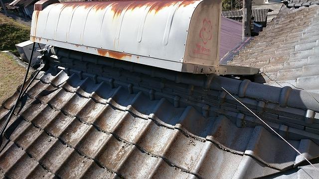 太陽熱温水器の写真
