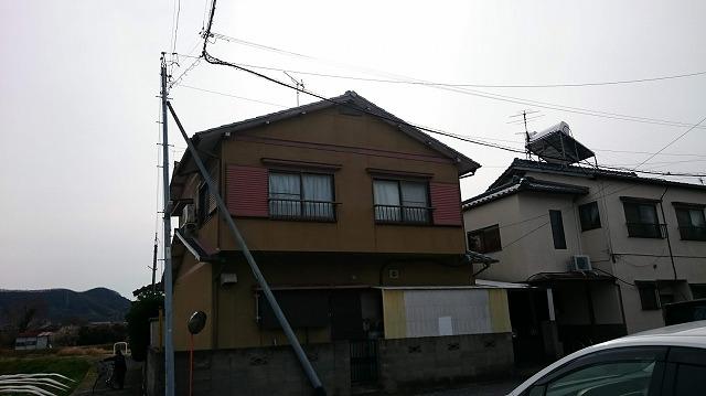 香川県高松市の在来木造一般住宅M様邸の 北面