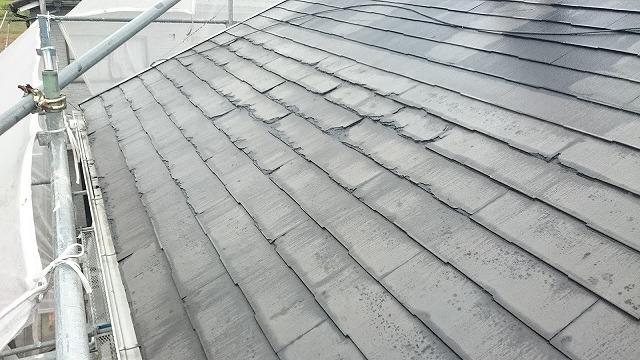 屋根面正面側
