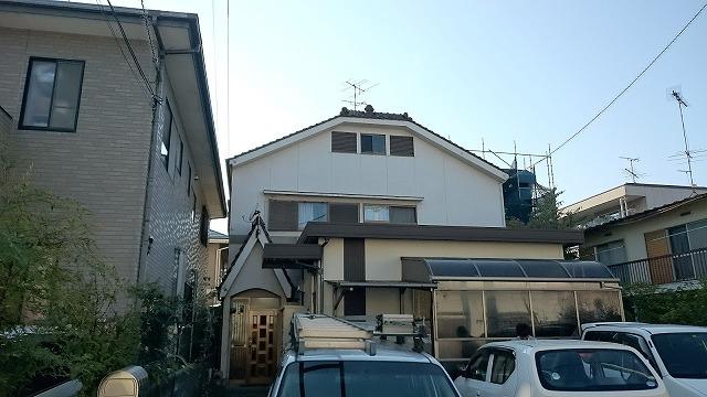 松山市安城寺の現場