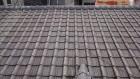 既存のセメント瓦屋根の写真