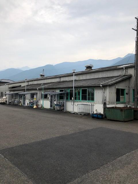新居浜市萩生にある工場