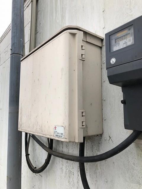 電気メーターの写真