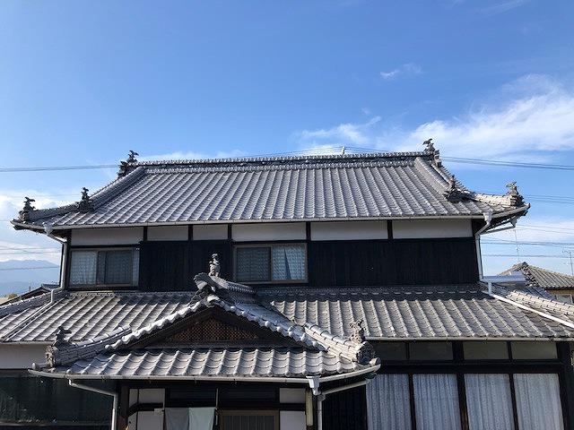 和形いぶし瓦の住宅写真