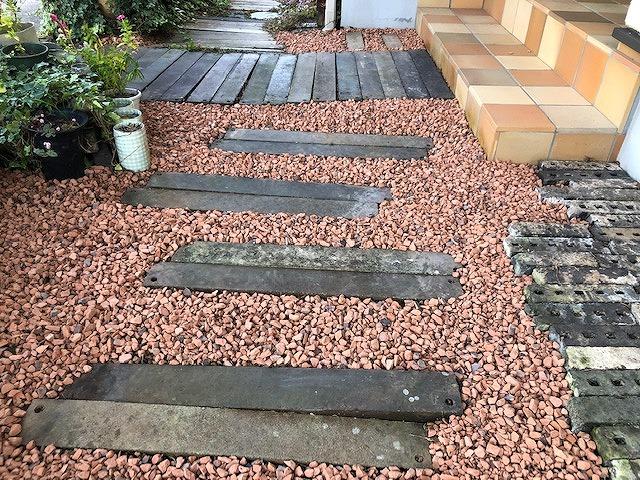 お庭の完工写真