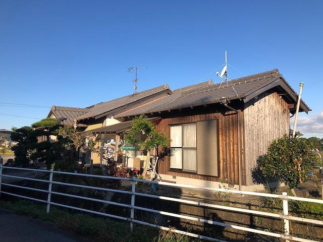 四国中央市土居町にある本谷板金工事をしたお家の現場写真