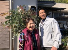 土田邸のお客様写真