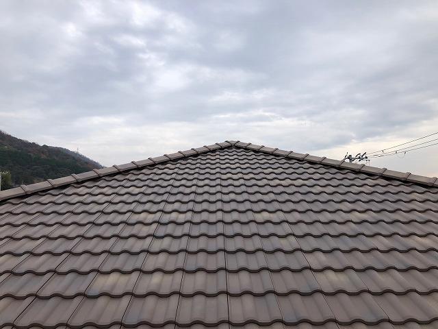 屋根の完工写真その一