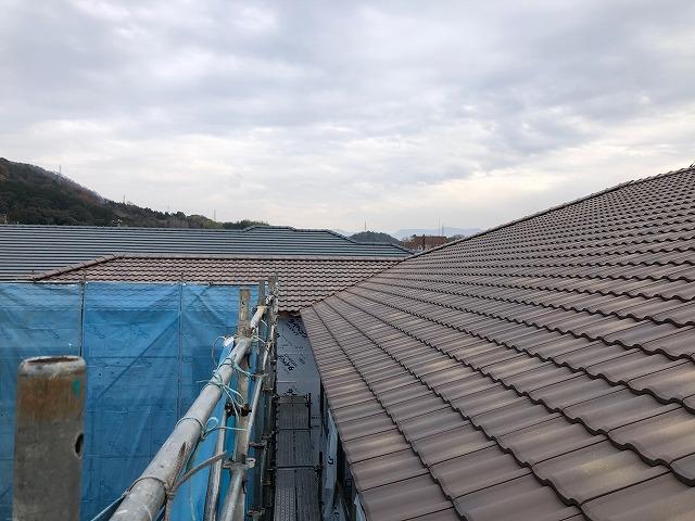 屋根完工写真その二