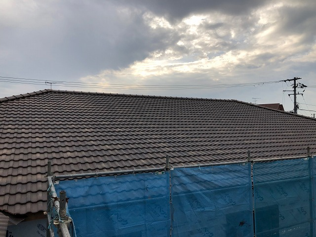 屋根全体の完工写真