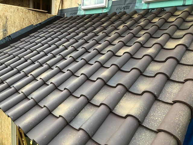 一階屋根の写真