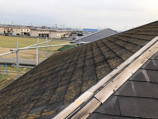 既存の化粧スレート屋根