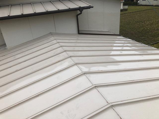 上屋根の全体写真