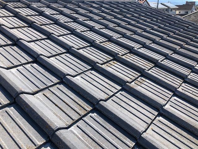 セメント瓦屋根平面部1