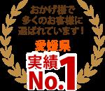 松山市、西条市、今治市エリア、おかげさまで多くのお客様に選ばれています!